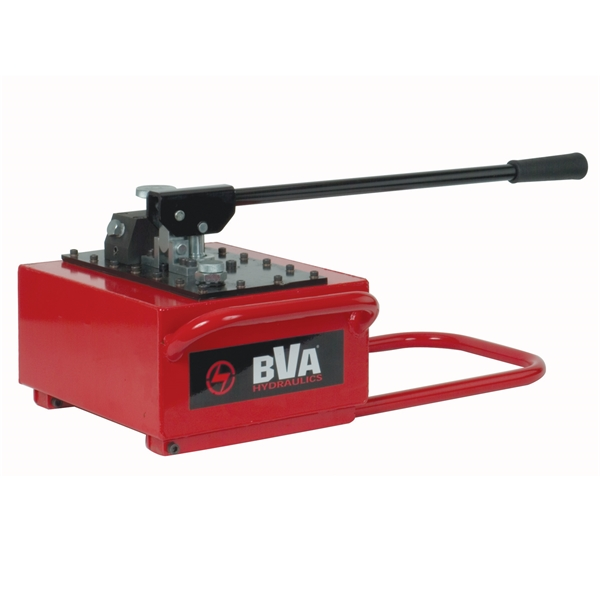 Two speed metal hand pump with 476 in usable oil for for Two speed hydraulic motor