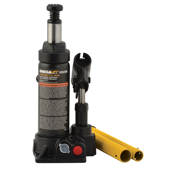 Omega 2 Ton Hydraulic Bottle Jack 10025b Manual Guide